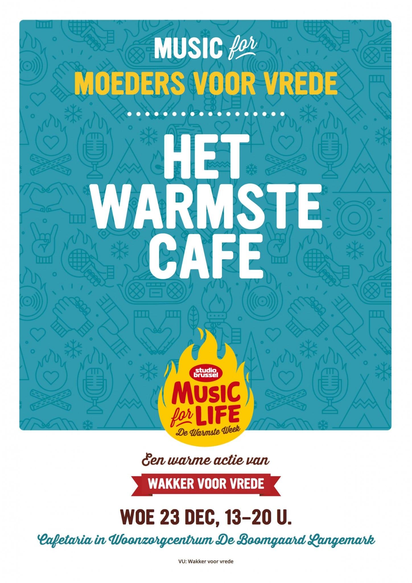 Het Warmste Café Voor Moeders Voor Vrede