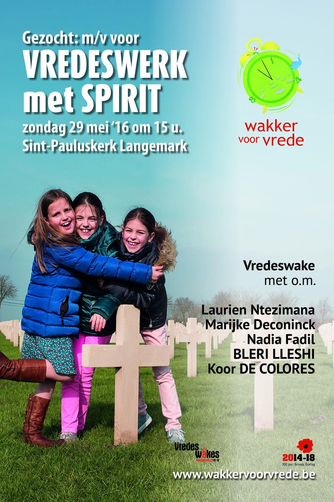 Vredeswerk Met Spirit