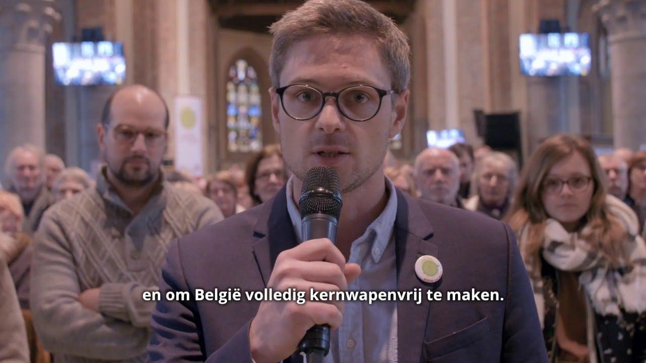 Video-oproep Nobelprijswinnaar Voor Kernwapenvrij België